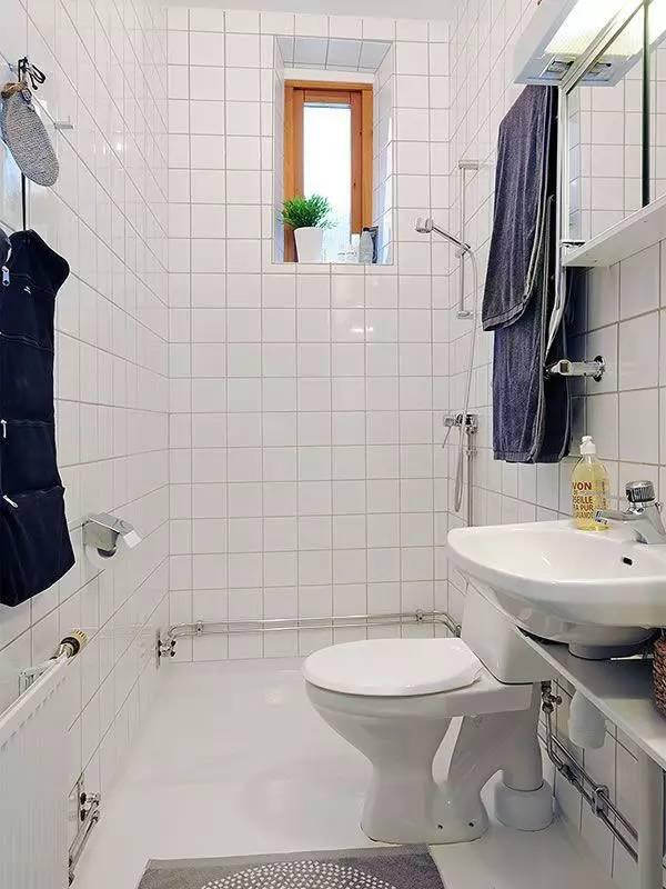 真·小户型卫生间设计案例,别再说它们不够小了