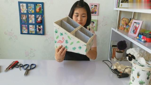 用盒子做收纳盒