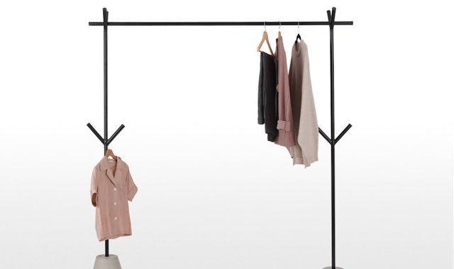 二手服装店衣架展示架