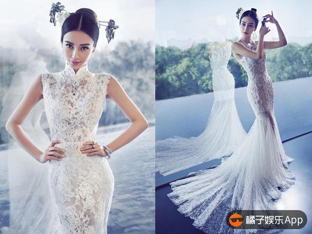杨颖婚纱照全套