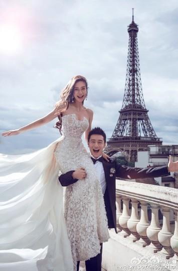 黄晓明Angelababy婚礼全回顾:他满足了所有女生对婚礼... _微微风