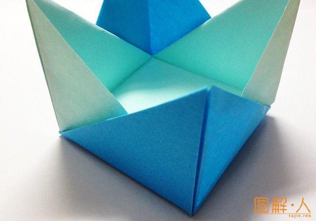 折纸盒与纸盒子的折法手工制作图解教程大全 - 纸艺网手机版