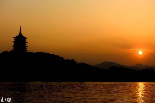 美丽的杭州西湖风光-风景壁纸-高清风景图片-娟娟壁纸