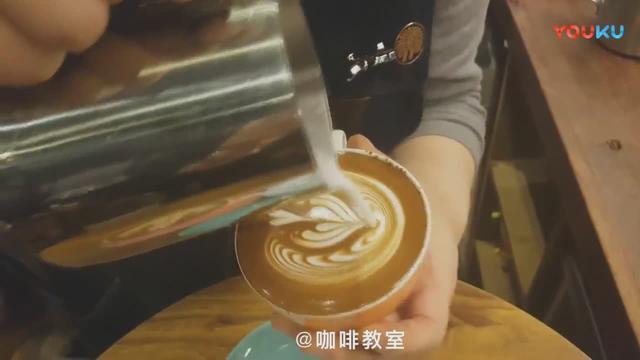 咖啡拉花圖解