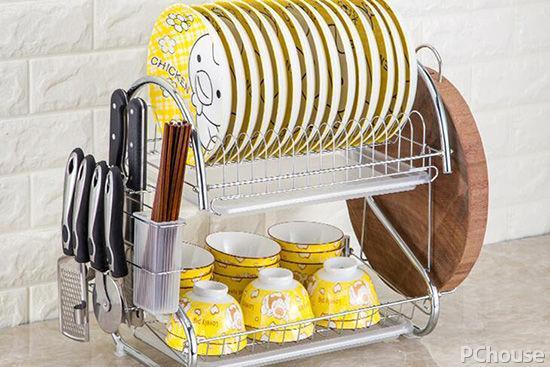 厨房收纳神器,好用的置物架,可以节省好多空间
