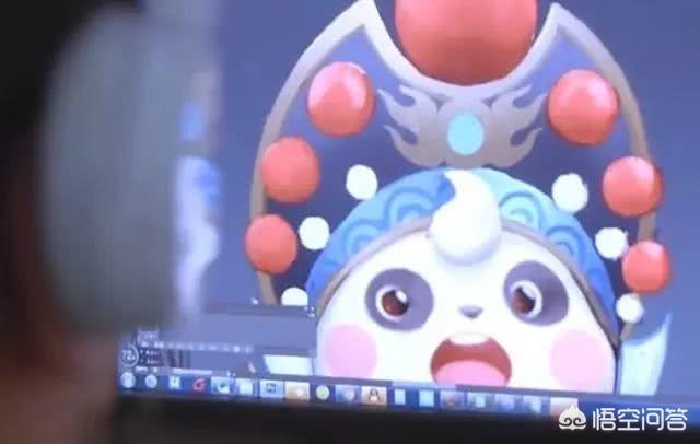 《王者荣耀》梦奇熊猫皮肤技能特效展示 会变脸... _九游手机游戏
