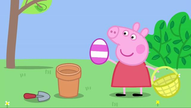 小猪佩奇:巧克力还真是没浪费,佩奇连勺子都舔干净了,吃了一嘴