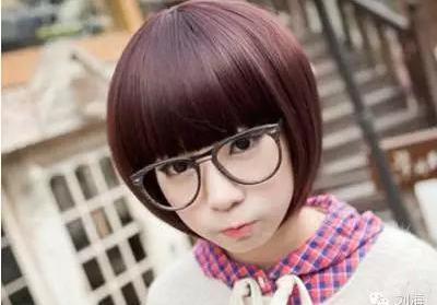 学生刘海日常发型分享