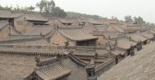 古代建筑屋顶的画法