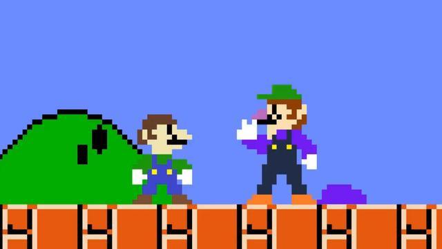 超级玛丽:超搞笑马里奥动画短片 瓦路易基快被气死了