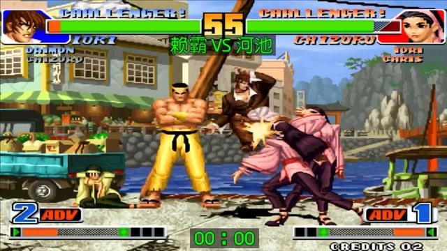 拳皇98赖霸是谁