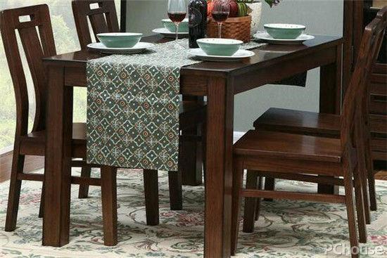 中式实木餐桌图片大全