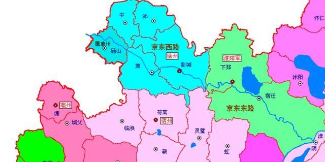 北宋地图全图