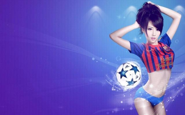 足球宝贝送给您,谁是你心中最美的足球宝贝呢?