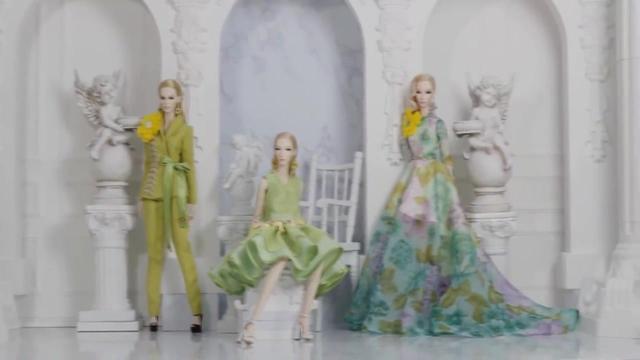 DeMuse Doll2019年度假系列发布 BJD娃娃真人同款服装时尚盛宴!