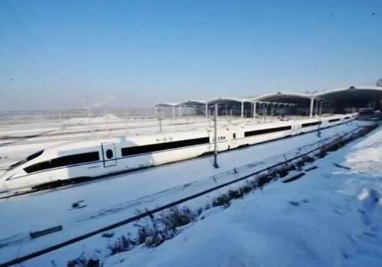 哈齐高速铁路沿线重要的高铁站——大庆东站