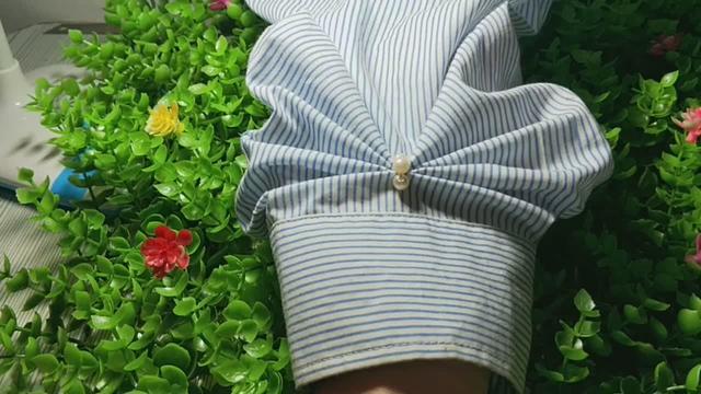 好看的棉麻七分袖