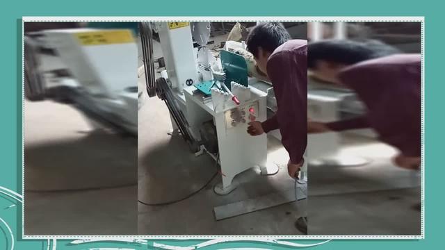 圆木推台锯的试机视频