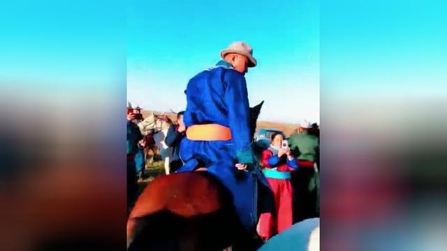 呼和浩特蒙古族婚礼