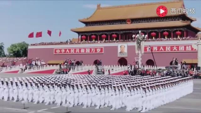 2017年国庆节阅兵