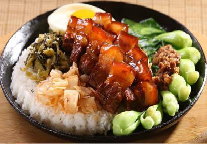 正宗台湾风味卤肉饭技术培训