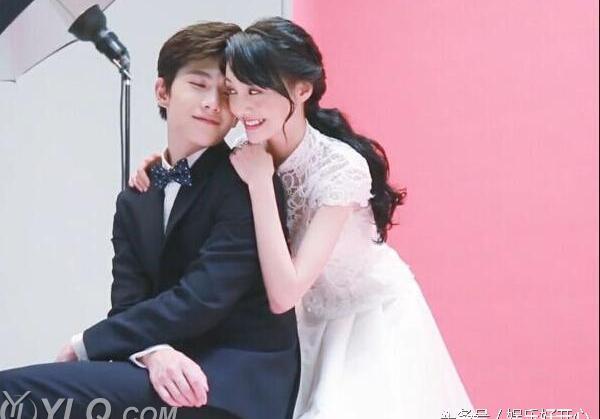 杨洋郑爽的婚纱照太美,两人甜蜜互动真是般配_头条视频