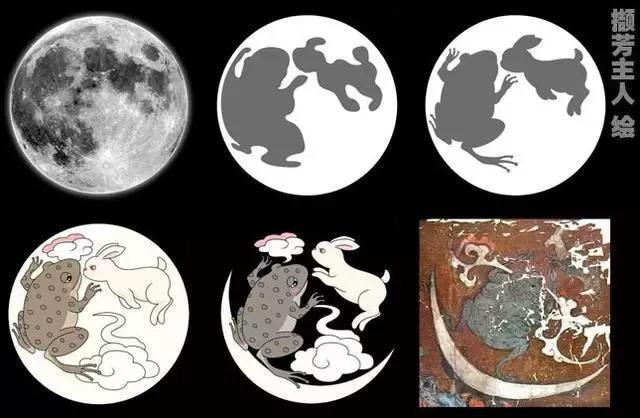 月亮和玉兔图片大全