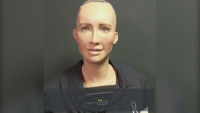 索菲亚人工超智能机器人