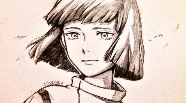 宫崎骏动画片手绘