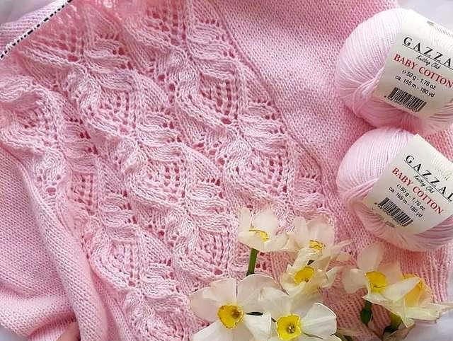横织毛衣花样织法图解