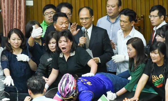 """65:3!民进党""""立委""""强行投票表决,陈菊出任""""监察院长"""""""