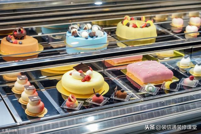 粉嫩少女心的蛋糕店裝修 ,可愛卡哇伊風格甜品店面裝修效果圖!
