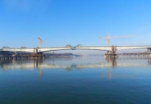 """中国在欧洲建首座大桥,塞尔维亚称其""""中国桥"""",速度惊艳世界"""