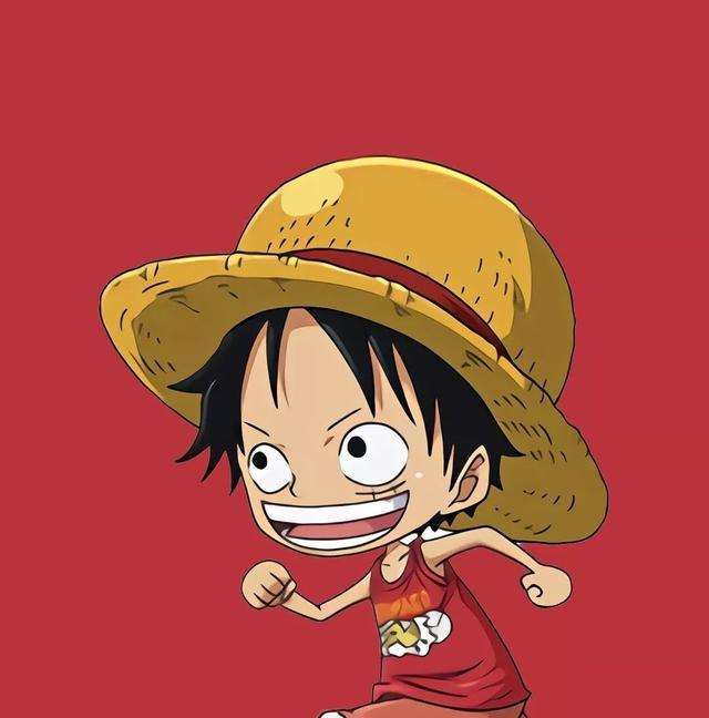草帽团童年壁纸:路飞是模范快乐小孩,罗宾对知识的向往无人能及