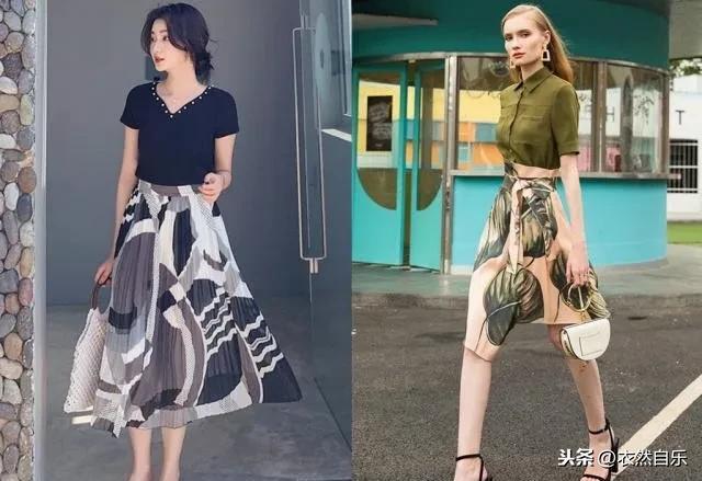 适合中年女人的连衣裙,时尚减龄不说,搭配还省心