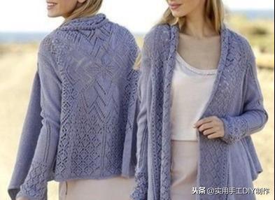 横织毛衣编织花样图解
