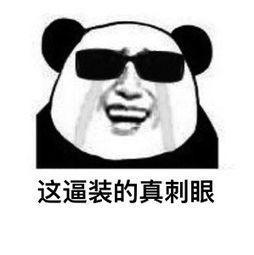 大熊猫表情包动图gif