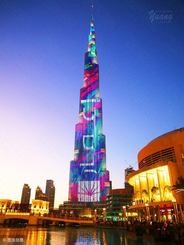 盘点世界的每个第一之第一高楼-哈利法塔(迪拜塔)