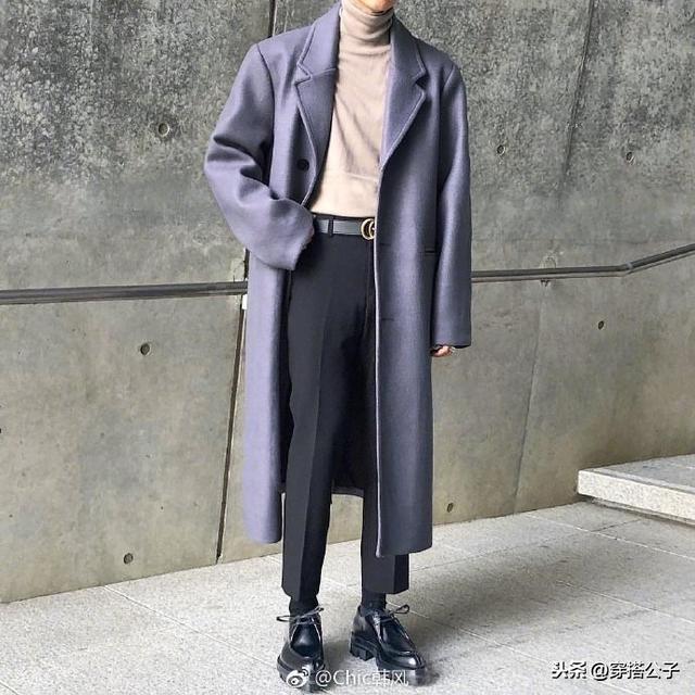 干净大方的韩系男生穿搭范本