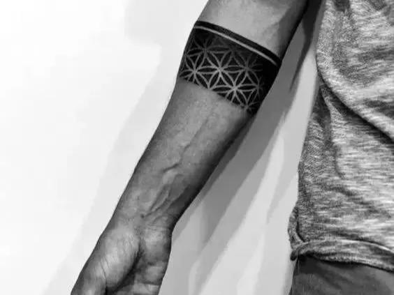 臂环纹身手稿图案大全