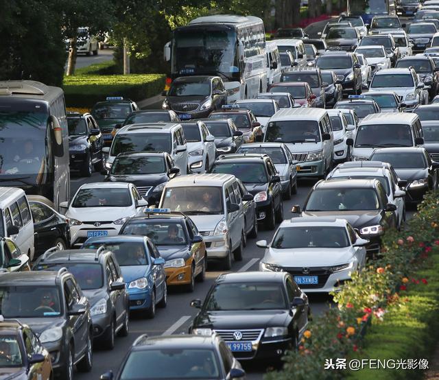 全国多条高速公路拥堵_新浪图片
