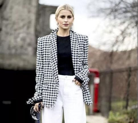 经典黑白配,永远站在时尚的C位,让你简简单单穿出高级感