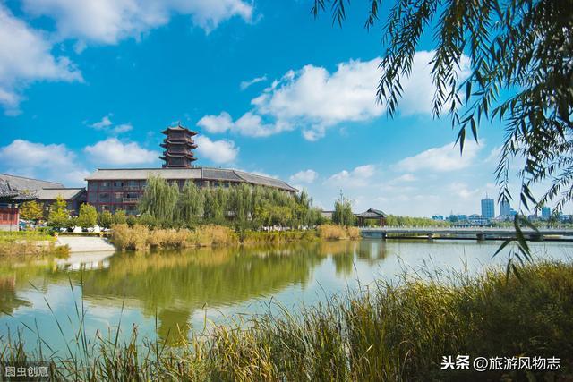 山东潍坊旅游景点:青州古城景区景色组图