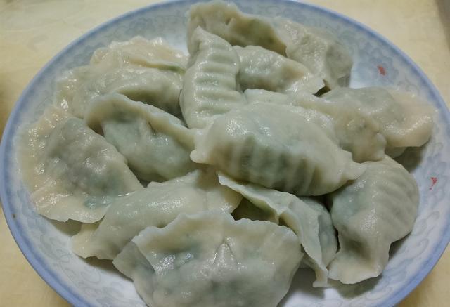 韭菜猪肉水饺图片