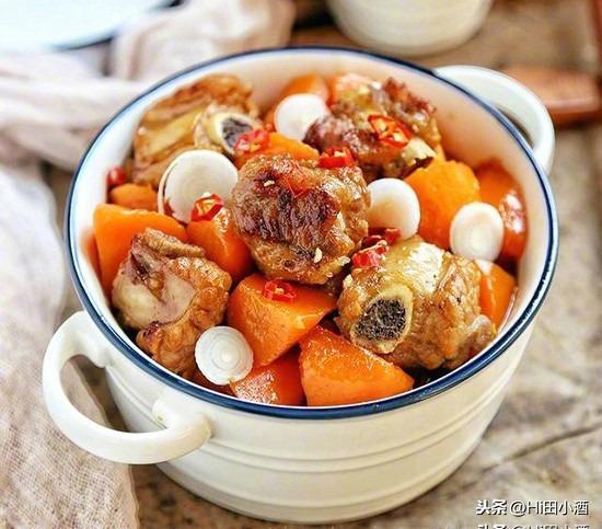 7步教你做出好吃的胡萝卜炖排骨,味道鲜美可口,大人小孩都爱吃
