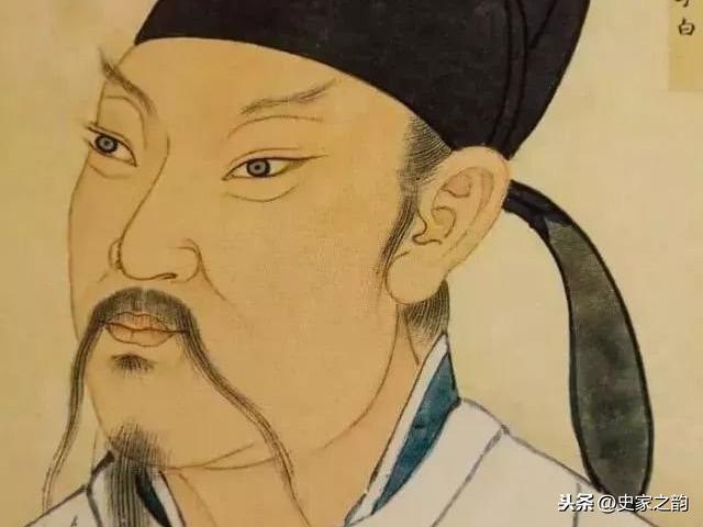 关于李白的诗配画