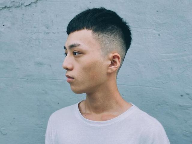 短发型男短发两边剃掉