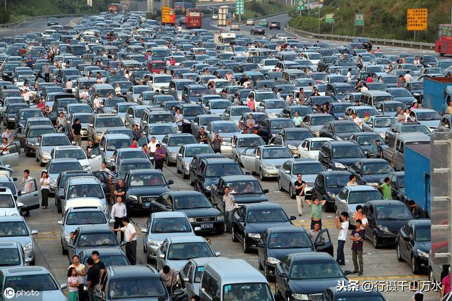 高速堵车摄影图__国内旅游_旅游摄影_摄影图库_昵图网nipic.com