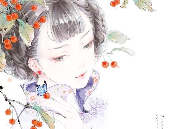 翩若轻鸿,提笔成仙,她笔下的古风插画美到令人心醉!