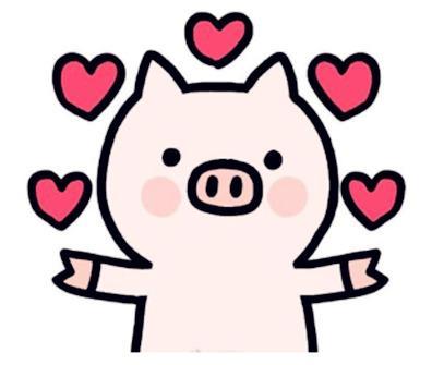 国画教程:生肖猪的画法 新的一年画起来